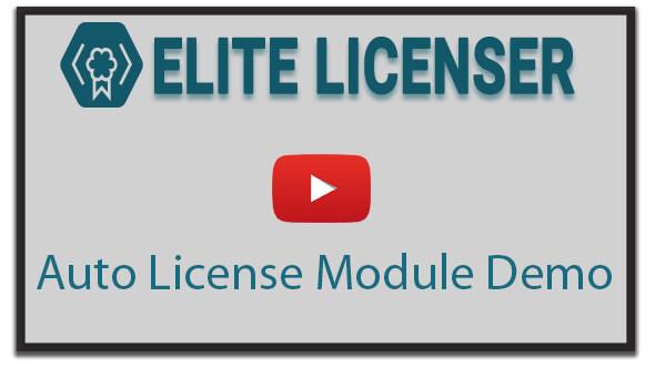 Auto License Video