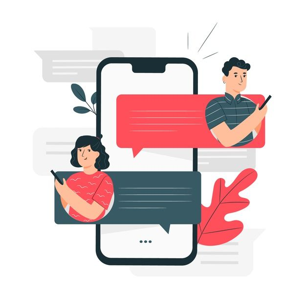 Elite Notification - Best FOMO, Social Proof, Sales Popup & WooCommerce Notification Popup - Download Messages Concept Illustration for free