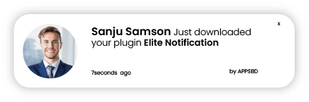 Elite Notification - Best FOMO, Social Proof, Sales Popup & WooCommerce Notification Popup - ss