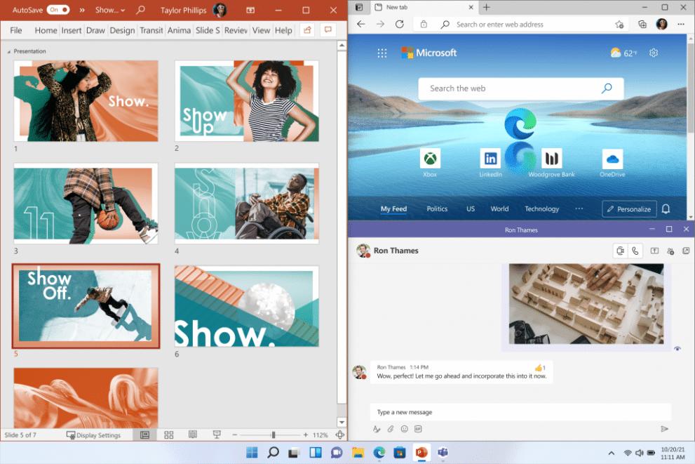 What is new in Windows 11? Best part and funcionalities of windows 11. - WIN Snap Ultimate Desktop 3x2 en US 1024x683 1